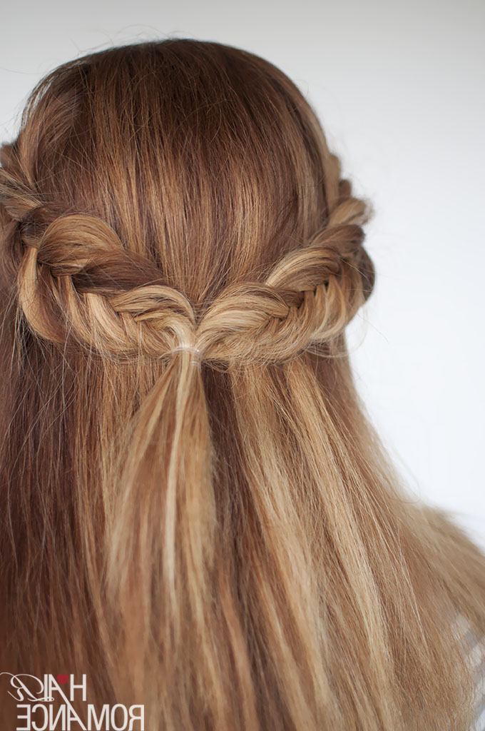 Reverse Fishtail Braid Tutorial – Two Ways Intended For Newest Thick Two Side Fishtails Braid Hairstyles (View 12 of 25)