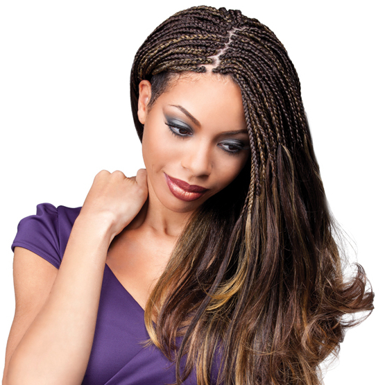 [Royal Silk Braid] Yaki Ponytail For Newest Royal Braided Hairstyles With Highlights (View 2 of 25)