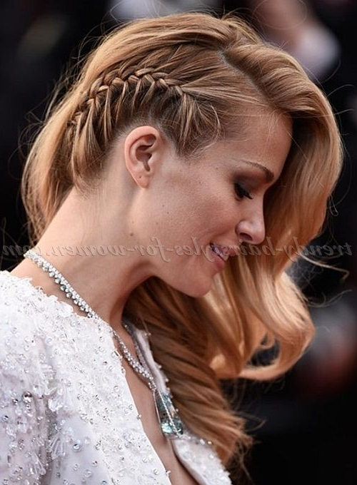 See The Latest #hairstyles On Our Tumblr! It's Awsome Pertaining To Most Popular One Side Braided Hairstyles (View 3 of 25)