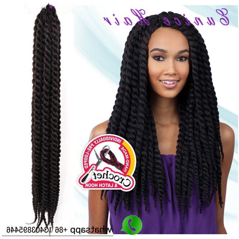 Senegalese Skinny Twists Crochet Braids Havana Mambo Twist For Most Popular Skinny Braid Hairstyles With Purple Ends (View 13 of 25)