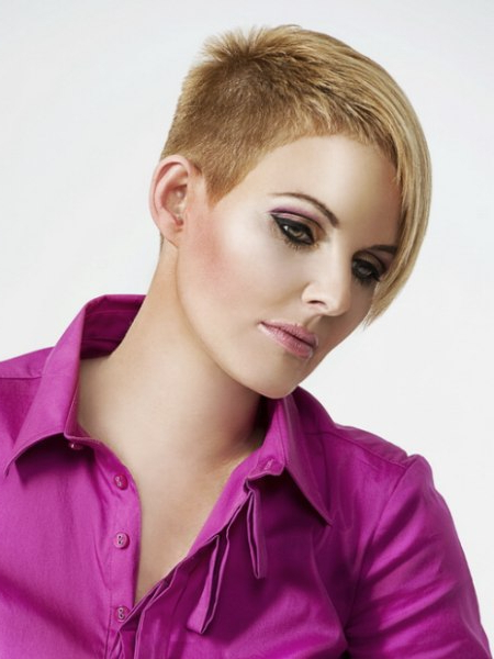 Short And Very Short Haircuts For Features Which Require Regarding Most Up To Date Short Stacked Bob Micro Braids (View 13 of 25)