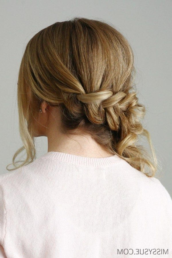 Side Swept Dutch Braid | Stylish | Bridal Hair Side Swept Intended For Most Popular Stylishly Swept Back Braid Hairstyles (View 18 of 25)