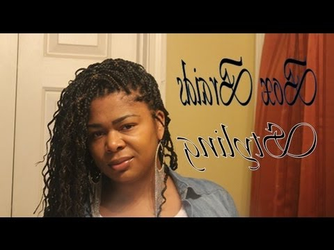 Simple/easy Ways To Style Your Box Braids!! Also, Wet & Wavy Braids Inside Current Individual Micro Braids With Curly Ends (View 18 of 25)