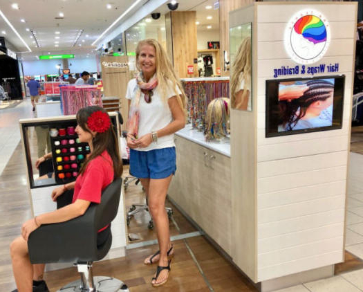 Surfers Paradise Hair Wraps And Braiding, Paradise Centre Regarding Recent Braided Hairstyles With Beads And Wraps (View 16 of 25)