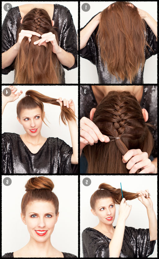 The Beauty Department: Your Daily Dose Of Pretty Intended For Current Braided Ballerina Bun Hairstyles (View 8 of 25)