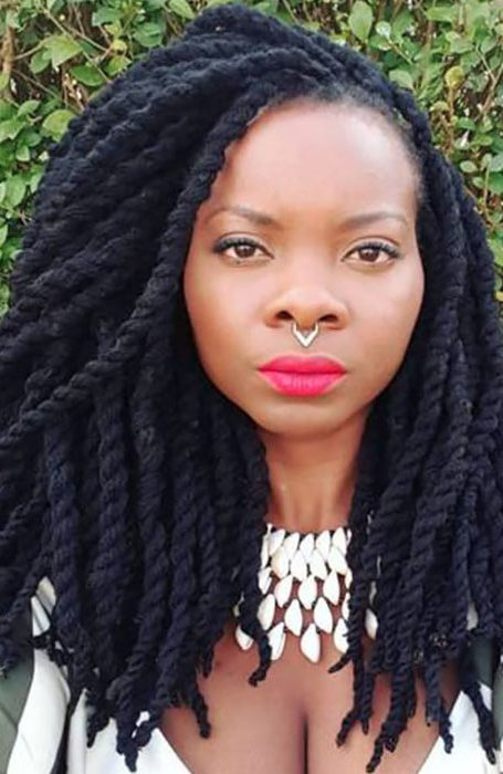 The Best Yarn Braid Hairstyles To Spice Up Your Look – The With Regard To Recent Jumbo Twists Yarn Braid Hairstyles (View 2 of 25)