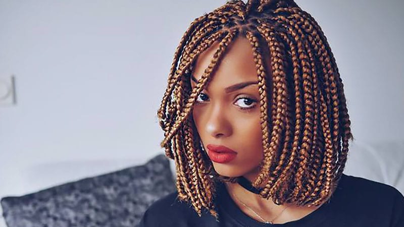 The Coolest Box Braids Hairstyles You Need To Try – The Within Latest Box Braid Bead Ponytail Hairstyles (View 9 of 25)