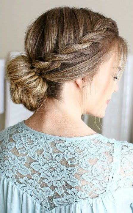 The Fishtail Braid In 2019   Hair!   Hair Styles, Long Hair In Most Up To Date Heart Shaped Fishtail Under Braid Hairstyles (View 18 of 25)
