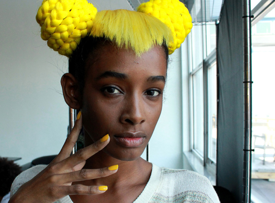 The Hairstyle That Got Minnie Mouse To Fashion Week | Beautylish Inside Newest Minnie Mouse Buns Braid Hairstyles (View 23 of 25)