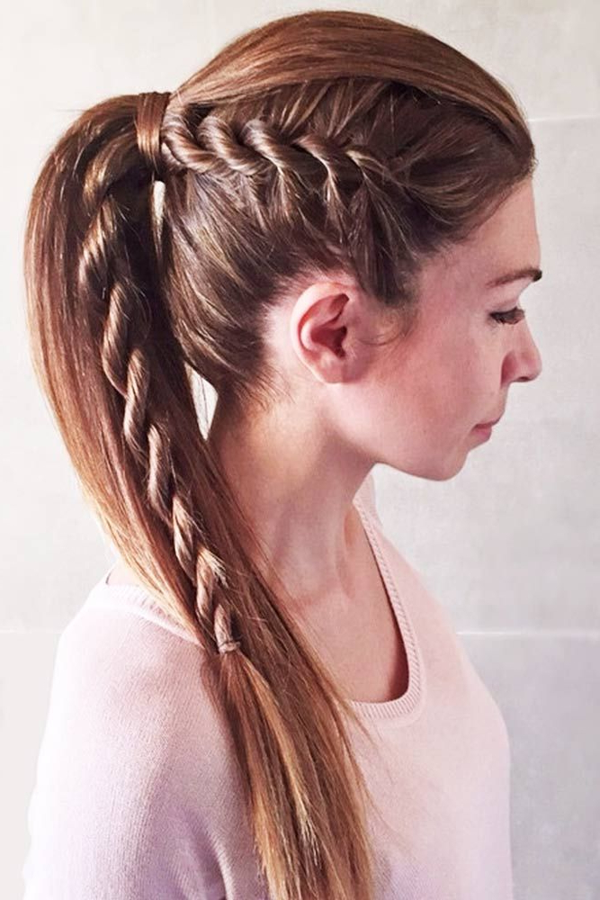 The Magic Of A Braided Ponytail | Ponytails & Updos (View 12 of 25)