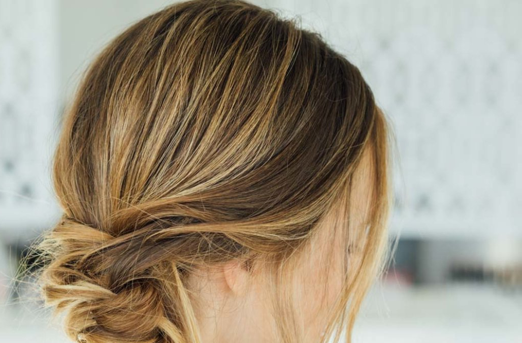 This Messy Braid Wrap Ponytail Is Absolutely Gorgeous – Aol Pertaining To Most Current Wrapped Ponytail Braid Hairstyles (View 24 of 25)