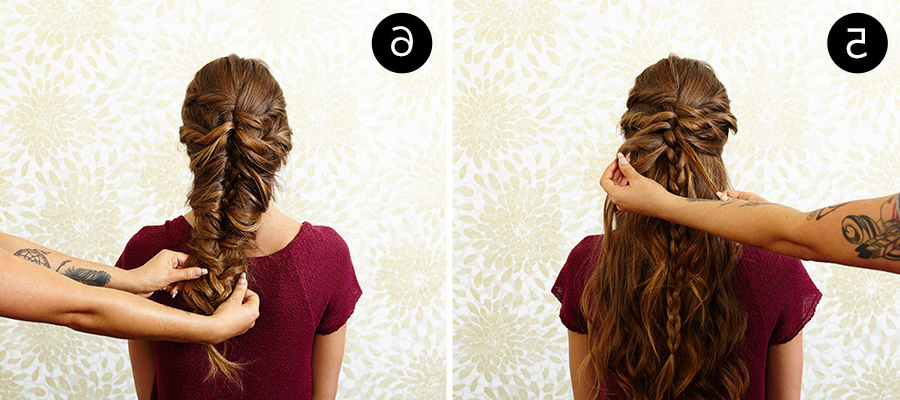 This Messy Mermaid Braid Is Your New Must Try Hairstyle – More With Newest Twisted Mermaid Braid Hairstyles (View 8 of 25)