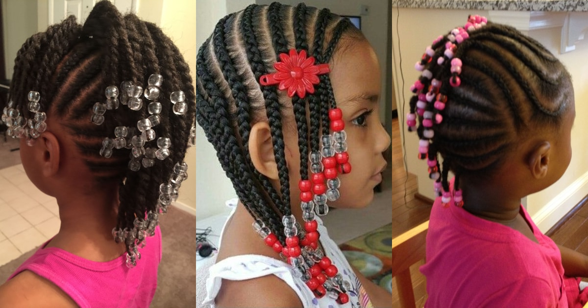 Toddler Braided Hairstyles With Beads For Girls ? Legit (View 12 of 25)