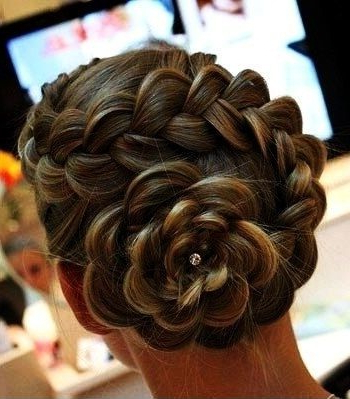 Top 9 Braided Bun Hairstyles For Long And Short Hair Inside Newest Braids And Buns Hairstyles (View 13 of 25)