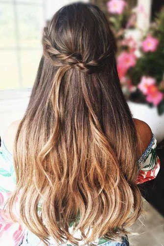 Try 42 Half Up Half Down Prom Hairstyles | Lovehairstyles Inside Most Recent Half Up, Half Down Braid Hairstyles (View 21 of 25)