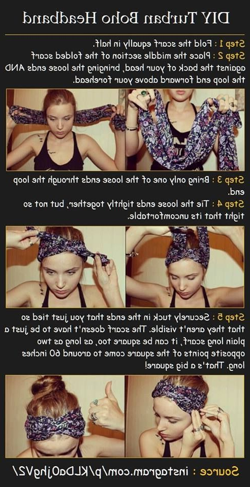Turban Head Band | Fashionista!!! | Hair Beauty: Cat Within 2018 Loose Braided Hairstyles With Turban (View 8 of 25)