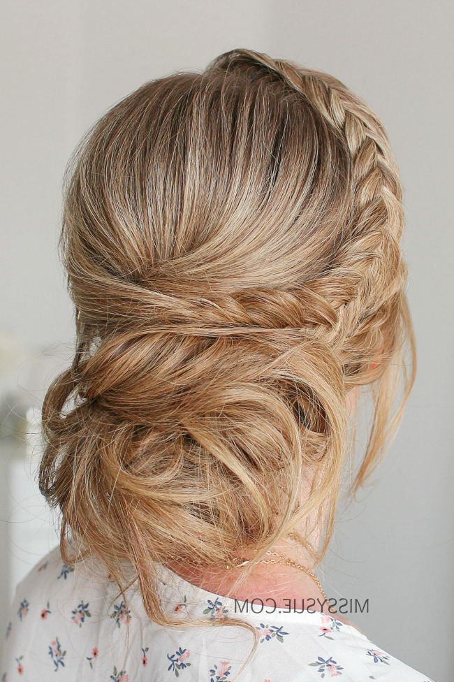 Twist Braid & Dutch Fishtail Updo | Missy Sue Pertaining To Most Current Messy Rope Braid Updo Hairstyles (View 9 of 25)