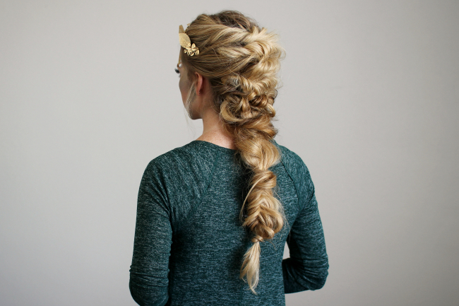 Twisted Mermaid Braid For Most Current Mermaid Braid Hairstyles With A Fishtail (View 6 of 25)