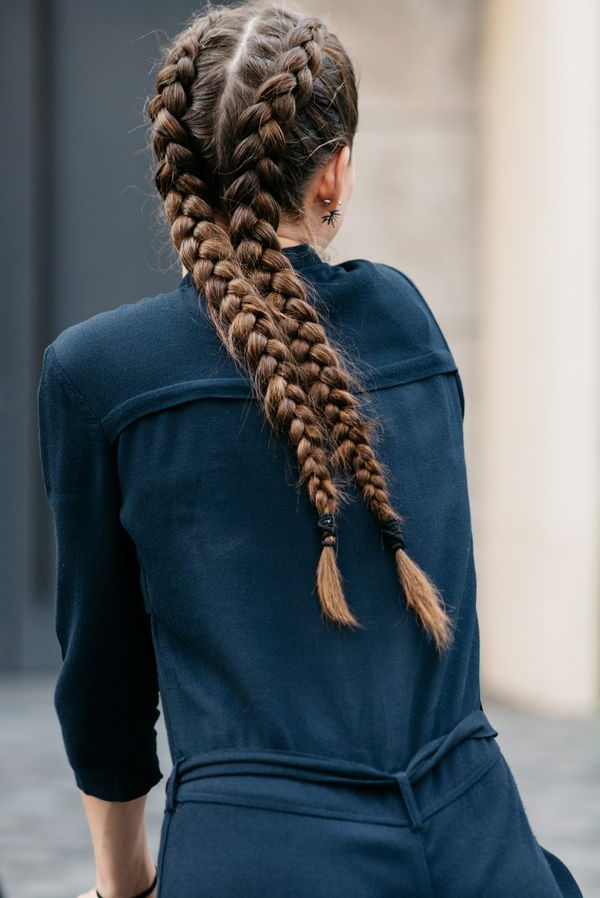 Two Braids Hairstyles Ideas (Trending In September 2019) Intended For Most Up To Date Long Hairstyles With Multiple Braids (View 3 of 25)