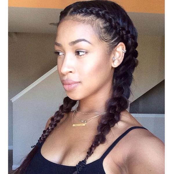 Two Braids Hairstyles Ideas (Trending In September 2019) With Best And Newest Long Hairstyles With Multiple Braids (View 20 of 25)