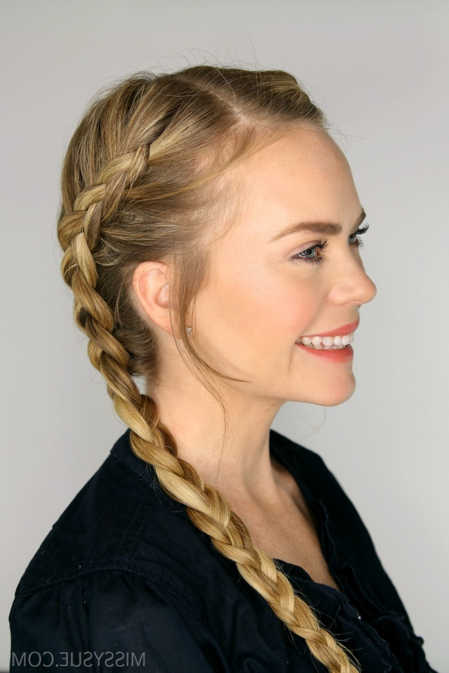 Two Dutch Braids | Missy Sue Within Most Recently Side Parted Braid Hairstyles (View 19 of 25)
