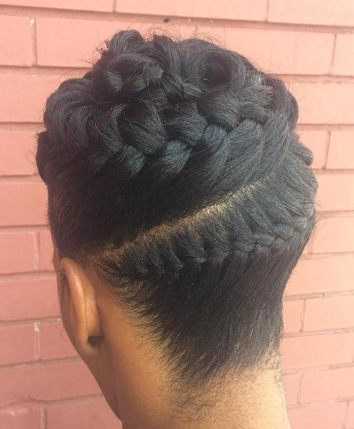Featured Photo of Whirlpool Braid Hairstyles