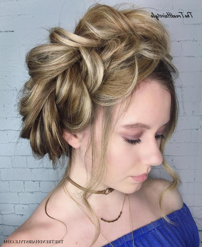 Featured Photo of Low Haloed Braided Hairstyles