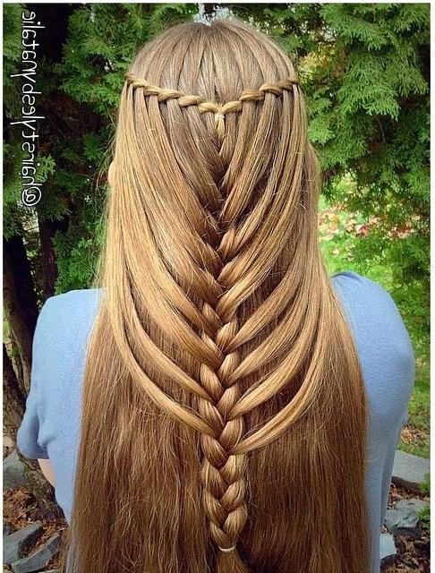 Waterfall Mermaid Braid – Trends & Style | Hair & Beauty Within Most Popular Waterfall Mermaid Braid Hairstyles (View 5 of 25)