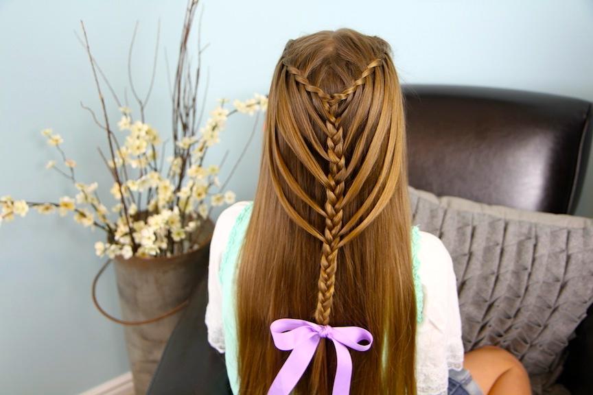 Waterfall Twists Into Mermaid Braid | Cute Hairstyles | Cute Throughout Newest Waterfall Mermaid Braid Hairstyles (View 13 of 25)