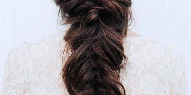 Wedding Hairstyles For Long Hair Dark Brown With Mermaid Regarding Recent Mermaid'S Hairpiece Braid Hairstyles (View 25 of 25)