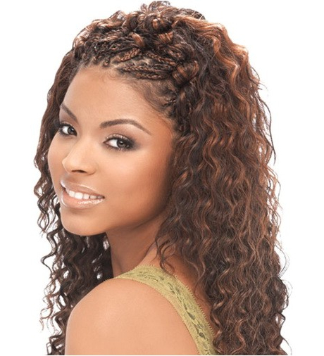 Wet And Wavy Braids Hairstyles Micro Braid Hair – Elwebdesants Throughout Best And Newest Micro Braid Hairstyles With Curls (View 17 of 25)