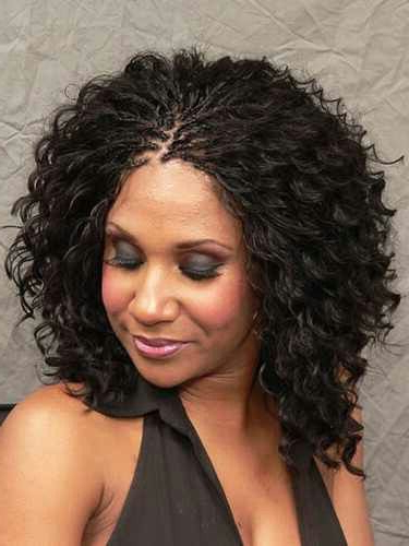 Wet N Wavy   Beautiful Black Hair   Hair Styles, Micro Inside Most Recently Wet And Wavy Micro Braid Hairstyles (View 9 of 25)