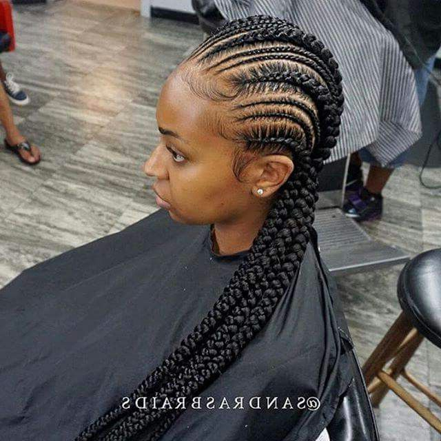Would You Want To Spend This Much Time On These Chunky For Most Current Chunky Ghana Braid Hairstyles (View 4 of 25)