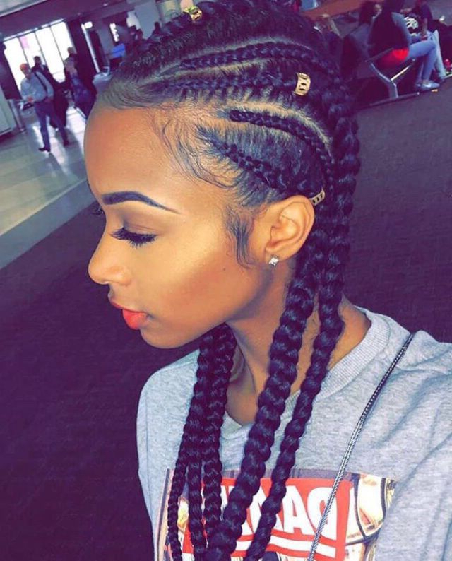Would You Want To Spend This Much Time On These Chunky With Most Up To Date Chunky Ghana Braid Hairstyles (View 9 of 25)