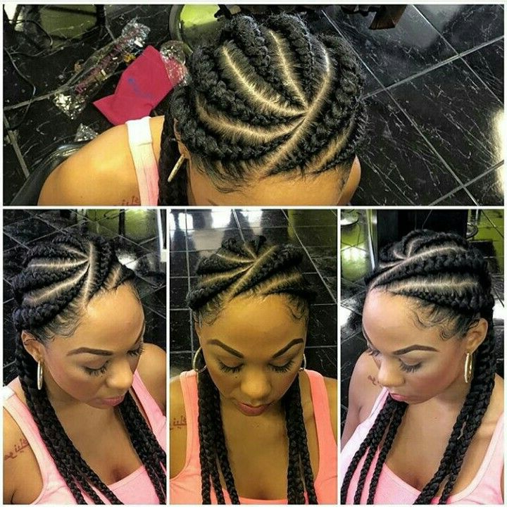 Would You Want To Spend This Much Time On These Chunky Within 2018 Chunky Ghana Braid Hairstyles (View 14 of 25)