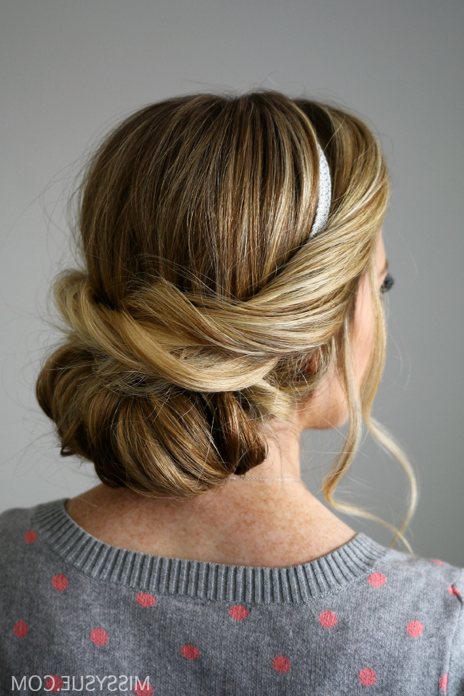 Wrapped Headband Updo Within Current Loose Twist Hairstyles With Hair Wrap (View 21 of 25)