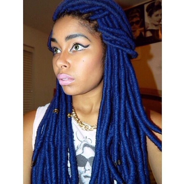 Yarn Braids Hairstyles, Best Pictures Of Yarn Braids Hairstyles With Regard To Most Current Blue And Gray Yarn Braid Hairstyles With Beads (View 16 of 25)