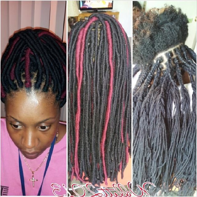 Yarn Dreads   Protective Styles In 2019   Natural Hair For Most Up To Date Yarn Braid Hairstyles Over Dreadlocks (View 6 of 25)