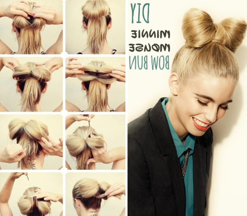 You'll Need These 5 Hair Tutorials For Spring And Summer Throughout Current Minnie Mouse Buns Braid Hairstyles (View 5 of 25)