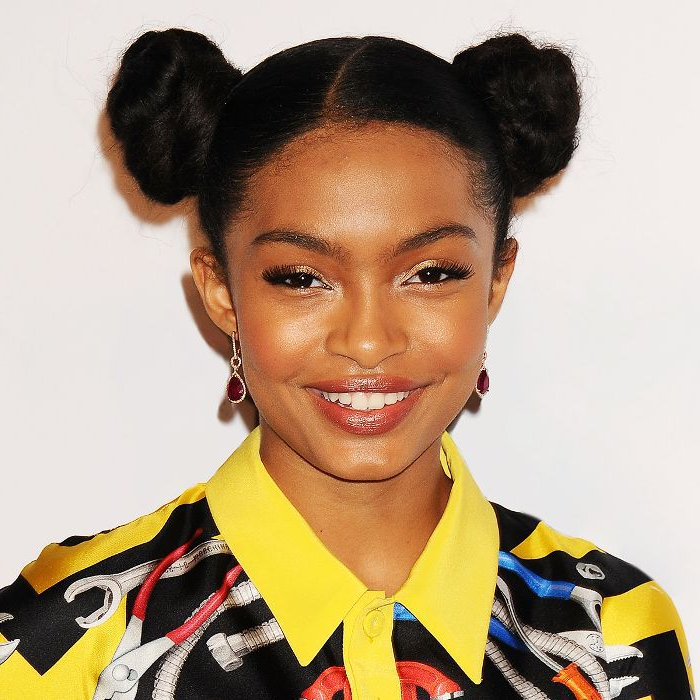 10 Cool (And Easy) Buns That Work For Short Hair For Messy Bun Hairstyles With Double Headband (View 15 of 25)