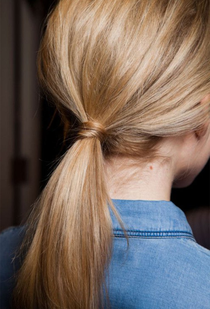 10 Easy And Gorgeous Ways To Make Your Ponytail Look Pertaining To Wrapped Ponytail Hairstyles (View 10 of 25)