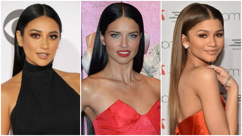 10 Easy Hairstyles For Long Hair – The Trend Spotter With Straight And Sleek Hairstyles (View 15 of 25)