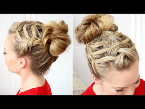 10 Easy Waterfall Braids You Can Do At Home – The Trend Spotter In Most Recent High Waterfall Braided Hairstyles (View 20 of 25)