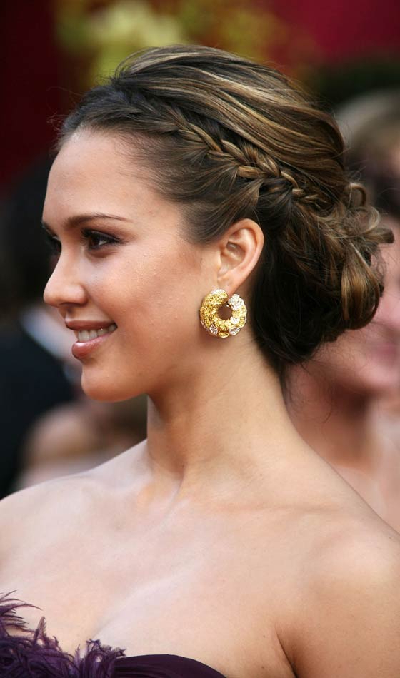 10 Gorgeous Bun Braid Updos To Inspire You Intended For High Bun Hairstyles With Braid (View 25 of 25)