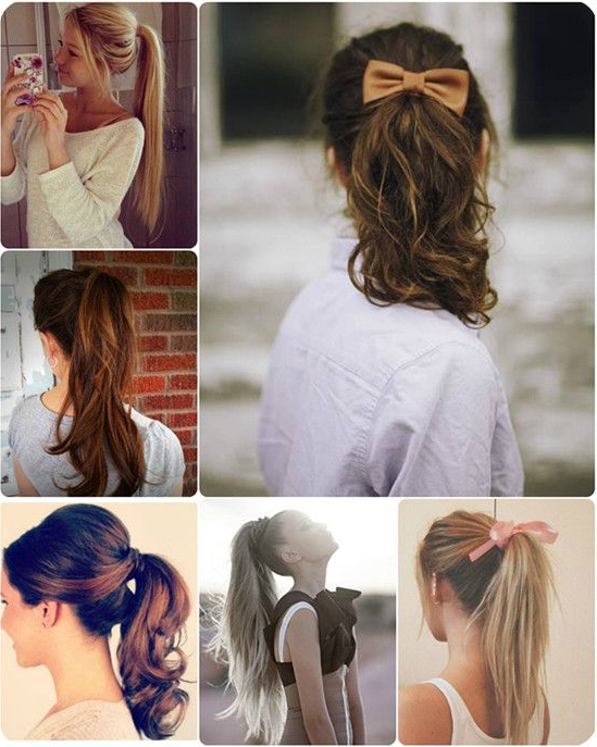 10 Quick Easy And Best Romantic Summer Date Night Hairstyles Inside Romantic Ponytail Updo Hairstyles (View 2 of 25)