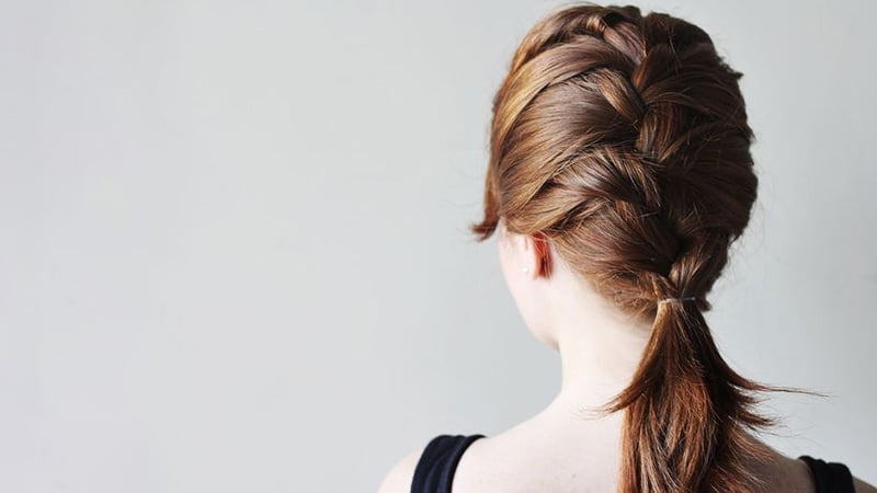 10 Sexy French Braid Hairstyles You Need To Try – The Trend For Reverse French Braid Bun Updo Hairstyles (View 23 of 25)