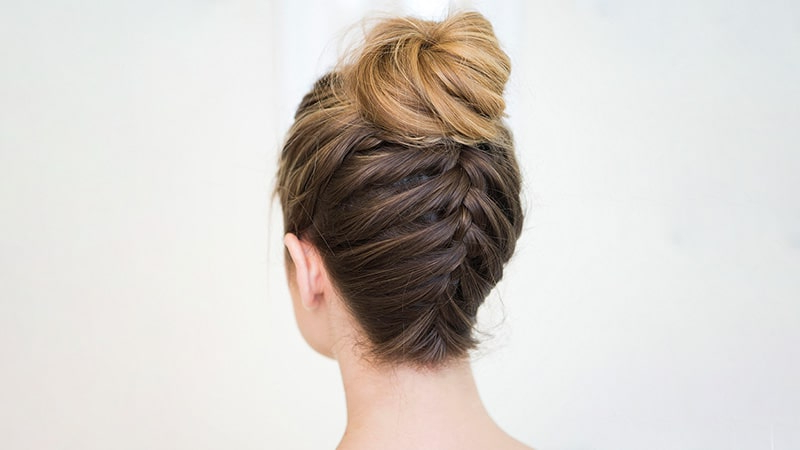 10 Sexy French Braid Hairstyles You Need To Try – The Trend Regarding Reverse French Braid Bun Updo Hairstyles (View 10 of 25)