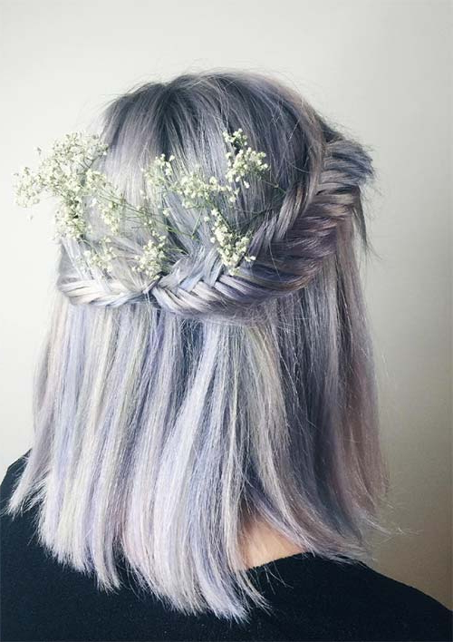 100 Ridiculously Awesome Braided Hairstyles To Inspire You In Current Fishtail Crown Braided Hairstyles (View 20 of 25)