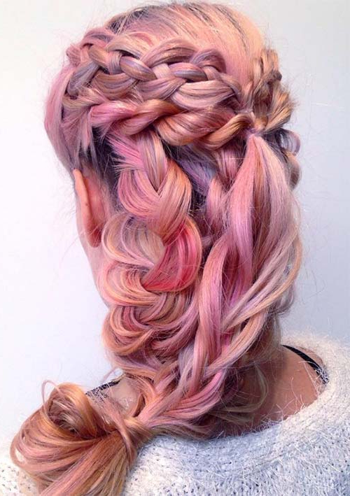 100 Ridiculously Awesome Braided Hairstyles To Inspire You With Regard To Latest Loosely Tied Braided Hairstyles With A Ribbon (View 14 of 25)
