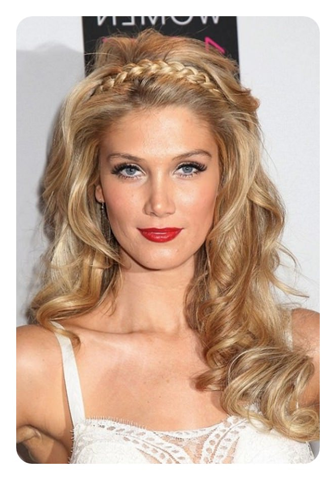 103 Fascinating Headband Braid For The Teenage Girls – Style Within Most Recent Headband Braided Hairstyles With Long Waves (View 17 of 25)